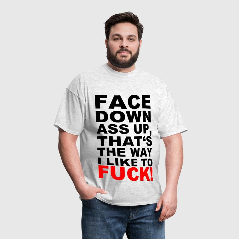 ASS FUCK - Men's T-Shirt
