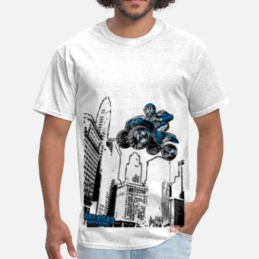 Ride Quads Sky-Riding Quad - Men's T-Shirt