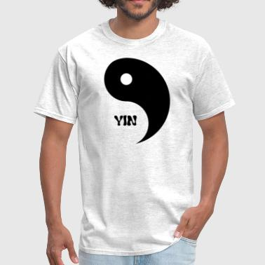 Yin (Yin- Yang Couples Design) - Men's T-Shirt