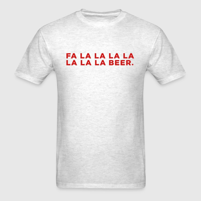 Beer Funny Christmas - Men's T-Shirt
