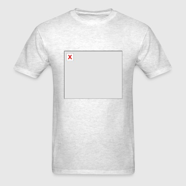 Broken Image HTML - Men's T-Shirt