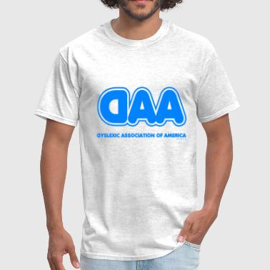 Dyslexic Assoc of America - Men's T-Shirt