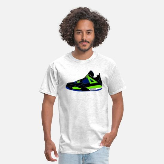 Bred T-Shirts - j4 doernbecher - Men's T-Shirt light heather grey