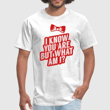 Pee Wee Big Adventure I Know You Are, But What Am I? - Men's T-Shirt
