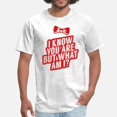 Pee Wee Herman I Know You Are, But What Am I? - Men's T-Shirt