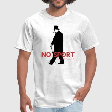 Winston Churchill, No Sport Design - Men's T-Shirt
