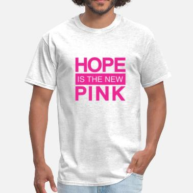 Breast Negative hope is the new pink - Men's T-Shirt