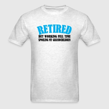 RETIRED GRANDPARENT - Men's T-Shirt