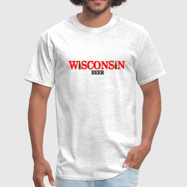 Wisconsin Beer - Men's T-Shirt