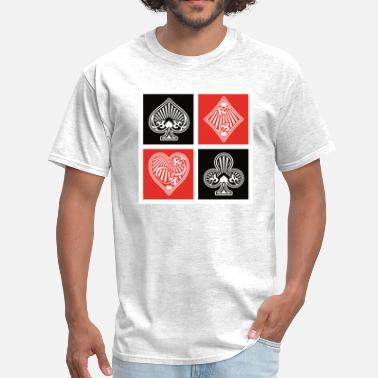 Playing Card Symbols Playing Cards Suit Symbol - Men's T-Shirt