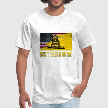 Don't Tread on Me Rustic - Men's T-Shirt
