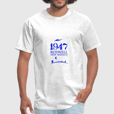 UFO 1947 Roswell - Men's T-Shirt