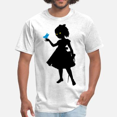 Bioshock Little Sister Silhouette - Men's T-Shirt