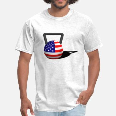Flags Kettlebell Flag Kettlebell - Men's T-Shirt