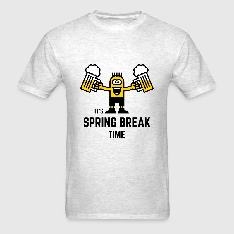 It's Spring Break Time (Beer / 3C) - Men's T-Shirt