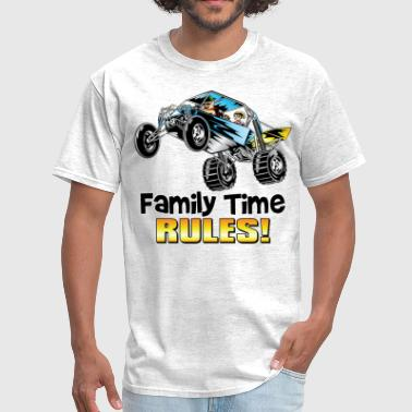 Dune Buggy Family Time Dune Buggy - Men's T-Shirt