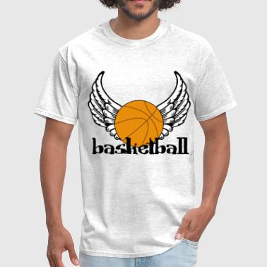 Basketball Wings - Men's T-Shirt