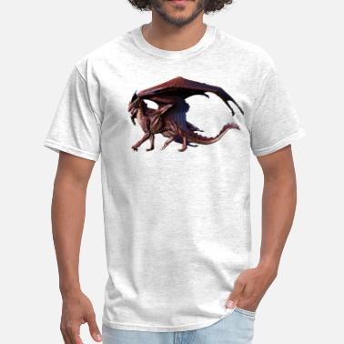 Red Dragon red dragon - Men's T-Shirt