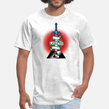 American Traditional Tattoo I Pull Out Master Sword - Men's T-Shirt