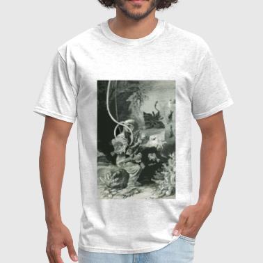 19th Century Biologist Diver with Diving Helmet - Men's T-Shirt