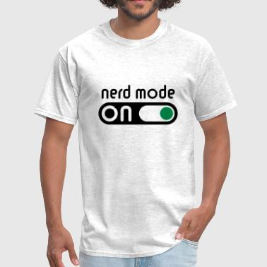 Nerd Mode On (Geek / Computer Freak) - Men's T-Shirt