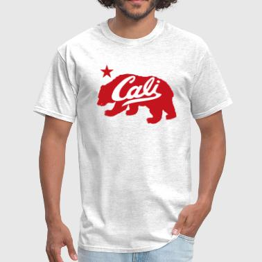 Cali Red Bear - Men's T-Shirt
