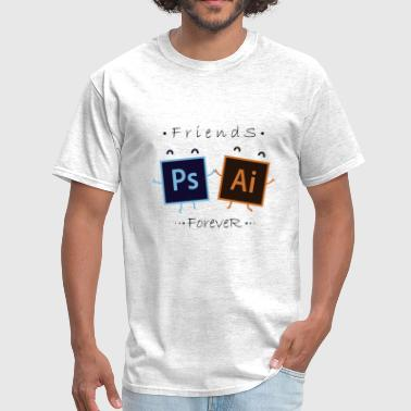 Adobe AI Y PS - Men's T-Shirt
