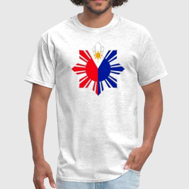 Pinoy Flag Pinoy Sun Flag - Men's T-Shirt