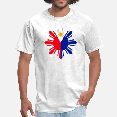 Philippine Pinoy Sun Flag - Men's T-Shirt