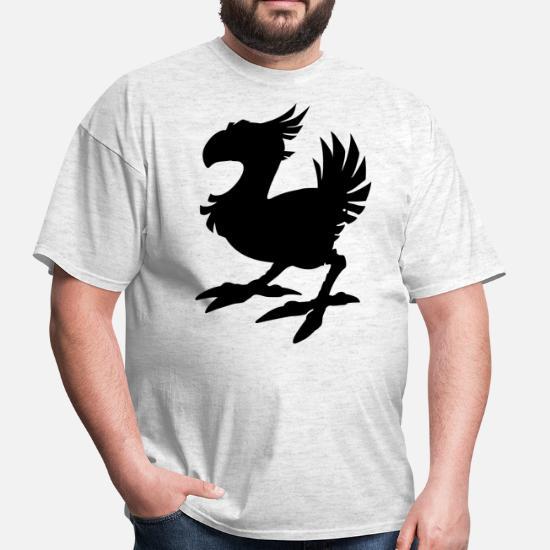 Chocobo Silhouette Men's T-Shirt   Spreadshirt