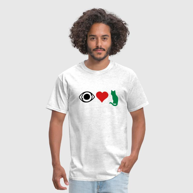 I love pussy - Men's T-Shirt