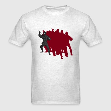 Ninja Slide - Men's T-Shirt
