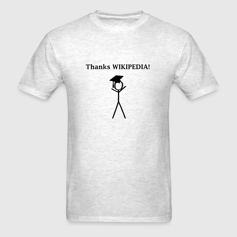 Thanks Wikipedia - Men's T-Shirt