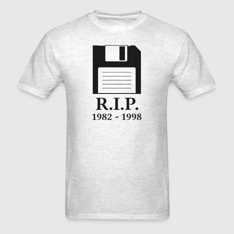 Rest In Peace Rip Floppy Disk By The Shirt Yurt Spreadshirt