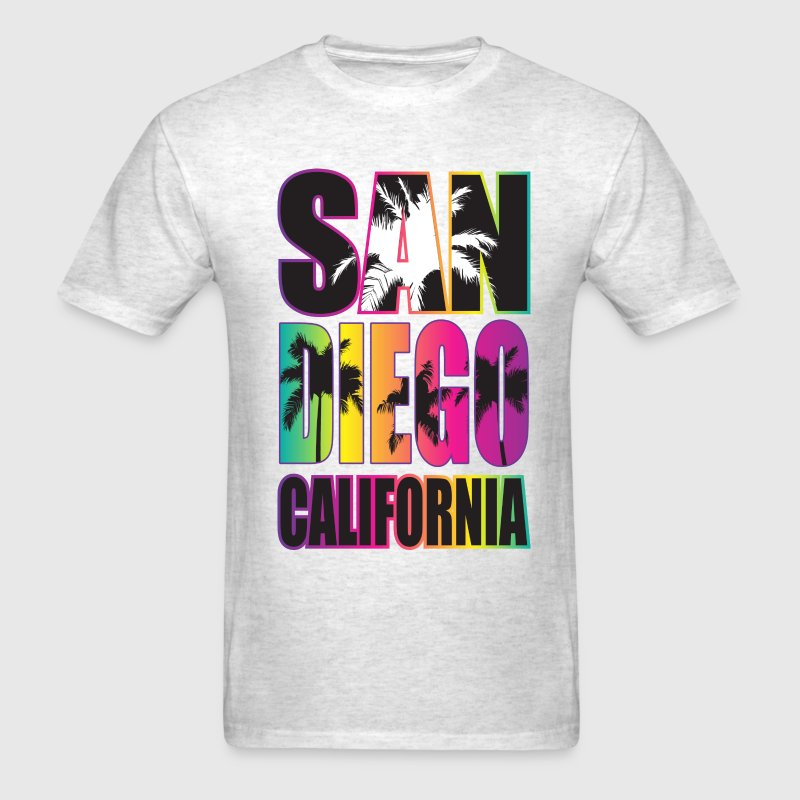 San Diego Beach California - Men's T-Shirt