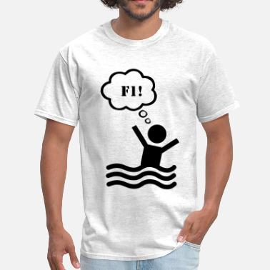 Drowning F1 Help - Men's T-Shirt