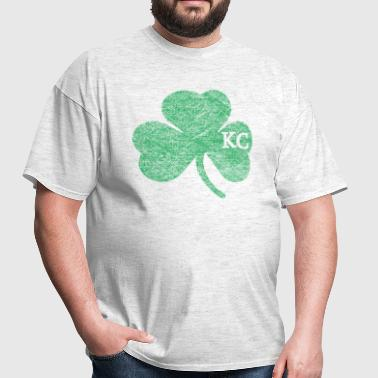 Old Kansas City Irish Shamrock Apparel - Men's T-Shirt