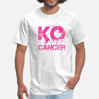 Breast Punch KO Cancer - Men's T-Shirt