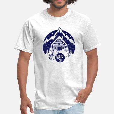 Skiing Vail Vail - Men's T-Shirt