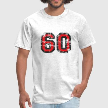 Number 60 Sixty 60th Birthday Design - Men's T-Shirt