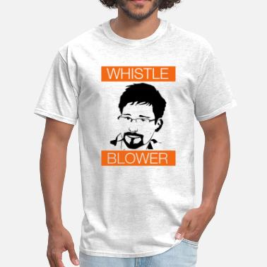 Whistleblowing Edward Snowden - Men's T-Shirt