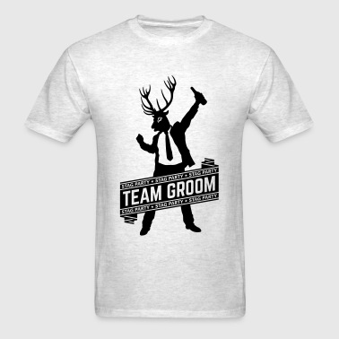 Team Groom / Stag Party (1C) - Men's T-Shirt