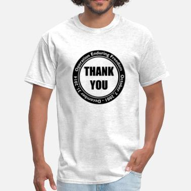 Enduring Freedom Enduring Freedom Thank You  - Men's T-Shirt