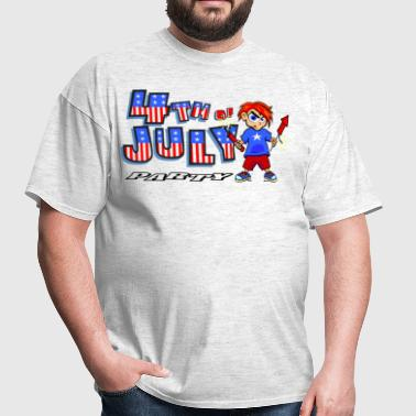4th Of July Party - Men's T-Shirt