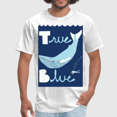 true blue - Men's T-Shirt