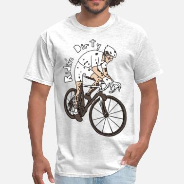 Dirty Life ridin dirty - Men's T-Shirt