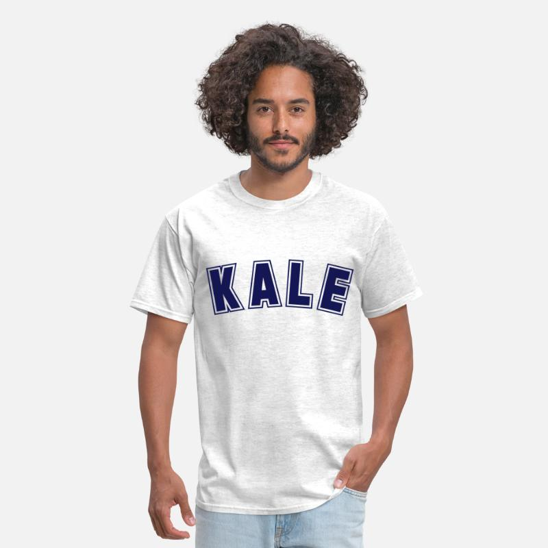 Vegan T-Shirts - Kale - Men's T-Shirt light heather grey