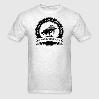 Fly Fishing Humor - Men's T-Shirt