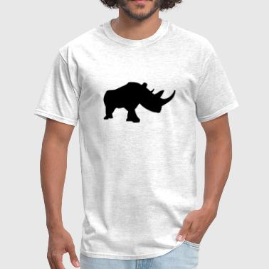 Rhinoceros - Men's T-Shirt