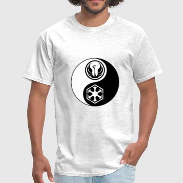 Sith Symbol Star Wars SWTOR Yin Yang 2-Color - Men's T-Shirt